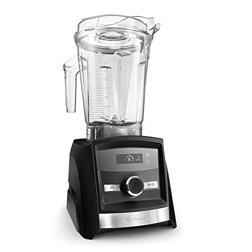 Vitamix A3300 Ascent Series Smart Blender, Professional-Grade, 64 oz. Low-Profile Container, Black Diamond