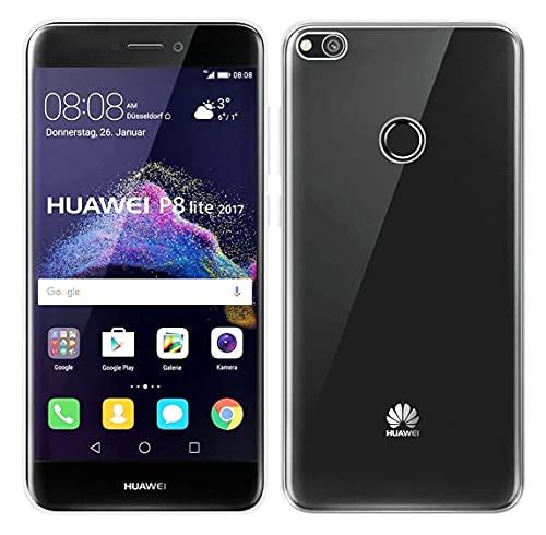 Bravoday Funda para Huawei P8 Lite 2017 / Huawei Honor 8 Lite, Carcasa Anti-Choques y Anti- Arañazos Suave TPU Protectora Carcasa para Huawei P8 Lite 2017 / Huawei Honor 8 Lite, Transparente