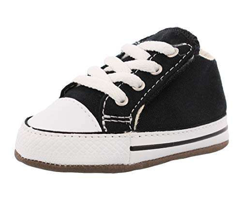Black Canvas Shoes Baby Boys