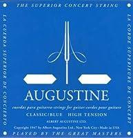 AUGUSTINE BLUE SET×1セット オーガスチンクラシックギター弦 ブルー