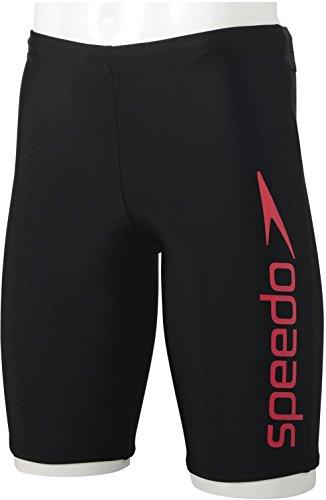 Speedo(スピード) フィットネス水着 メンズ スパッツ コンフォフレックス ベーシックインナー付き SD85S63 ...