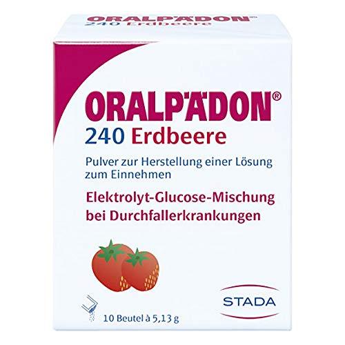 Oralpädon 240 Erdbeere Pulver, 10 St. Beutel