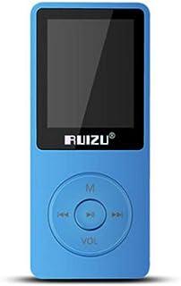 TZOU RUIZU X02 8GB 1.8 Inch Screen MP3 Player with FM E-Book Clock Data 8GB Blue