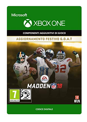 Madden NFL 18: G.O.A.T. Holiday Upgrade   Xbox One - Codice download