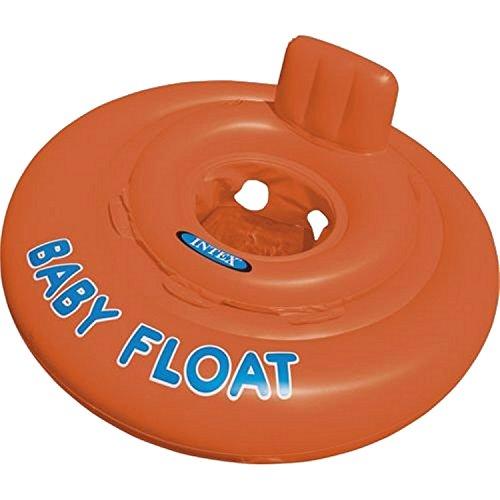 Intex Schwimmhilfe Baby Float Sitzring, Orange, Ø 76 cm