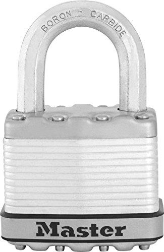 Master Lock Padlock, Magnum Laminated Steel Lock, 2 in. Wide, M5XKAD