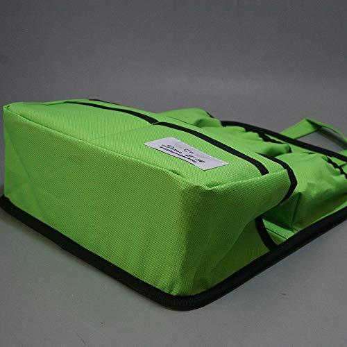 リュックインバッグリュックリュック用cr-318撥水加工整理便利グッズ(ライムグリーン)