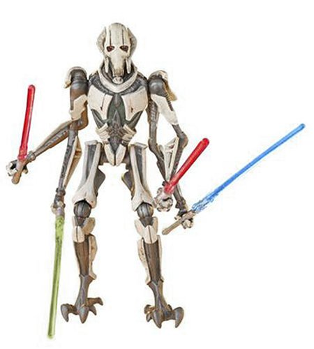 Star Wars Hasbro General Grievous 4 Lightsaber Attack 9