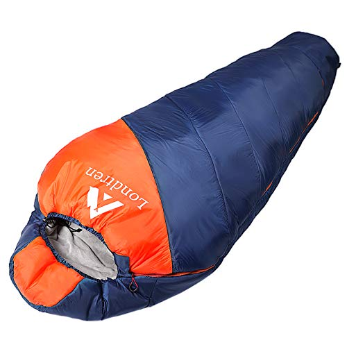 0 Degree Sleeping Bag Zero Degree Mummy Sleeping Bag For Adults Winter Camping Extreme Cold Weather Below Zero Sleeping Bag Big And Tall 20 15 10 Degree Waterproof Xl Flannel Heated Thermal Outdoor