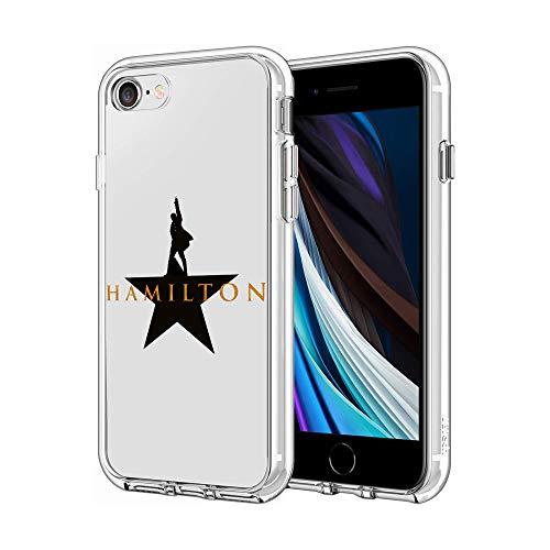 iPhone 7 Case iPhone 8 Case iPhone SE Case Clear Case Cover iPhone Case (Hamilton)