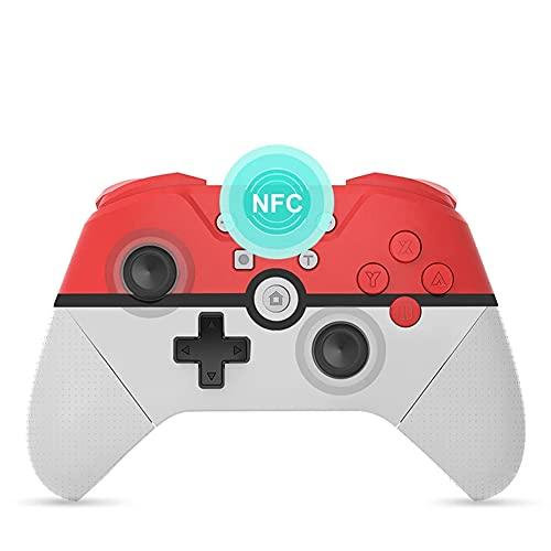 DJG Controller PRO Wireless per Nintendo Switch/Lite, SB PC Game Controller Joystick Interruttore Wireless Remote con Turbo, Movimento, Funzione di Vibrazione