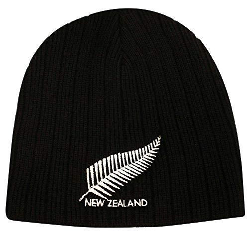 Neuseeland isoliert Rugby Beanie Hat (Erwachsene)