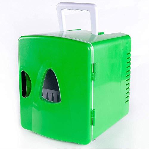 LYJ 8 litros compacto enfriador/calentador del mini refrigerador/enfriador de vino for los coches, Viajes por carretera, hogares, oficinas y dormitorios refrigerador del coche (color, tamaño: 268x