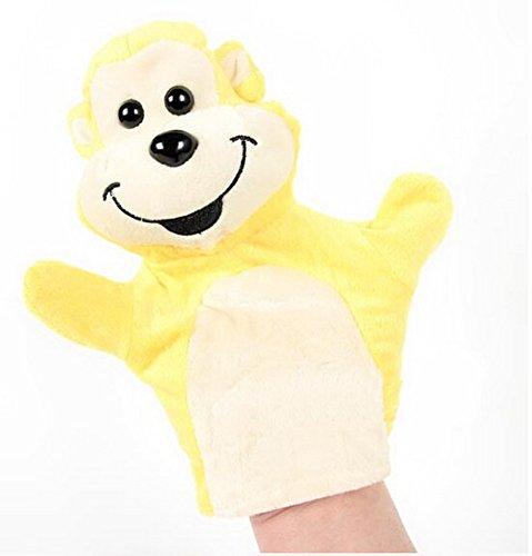 Cartoon marionnette jouets éducatifs préscolaires (Singe Jaune)