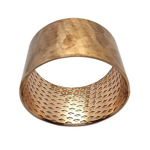 Gleitlagerbuchse 50mm x 55mm x 40mm | Gleitlager aus Bronze mit Innenschmierung (schmiertaschen) | Bronze-Gleitlager 50x55x40 | BRONZE - CuSn8 | 1 Stück