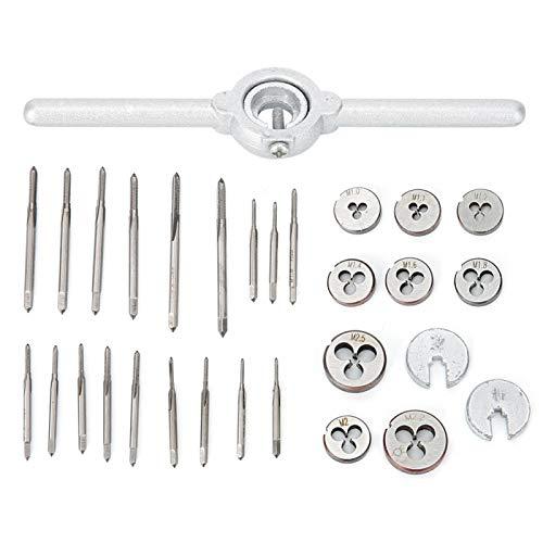 Juego de machos de roscar de Metal, roscado de roscado para Herramientas manuales para joyeros para relojería para Material metálico