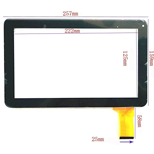 Bester der welt Weiß 10.1 EUTOPING® Touchscreen – 10.1 Digitizer Alternative Denver TAQ-10122