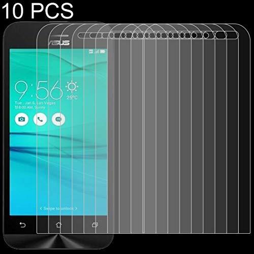 Protector de LYNHJCscreen Accesorios for teléfonos 10 PCS 0,26 mM 9H 2.5D Vidrio Templado de película for ASUS ZenFone Go / ZB452KG móvil