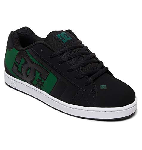DC Shoes Net - Leather Shoes for Men - Schuhe - Männer - EU 45 - Schwarz