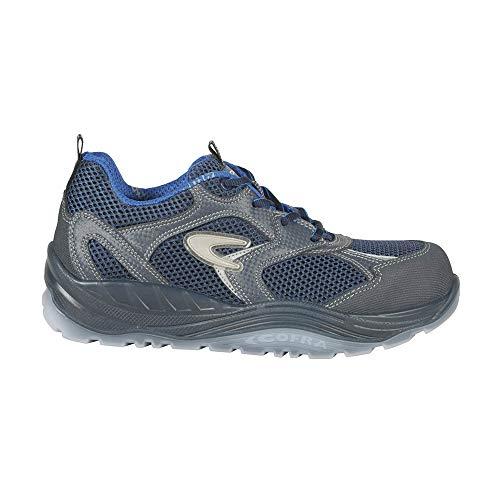 COFRA Calapi, 55150-000.W42 Calapi, S1 P SRC, negro/azul real, talla 42