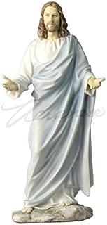 JESUS CHRIST BLESSING STATUE Real Bronze Powder Cast Statue Sculpture 12