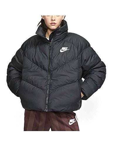 Nike W NSW Syn Fill Jkt Stmt Jacke, Damen XS Schwarz / Weiß
