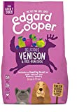Edgard & Cooper   Carne de venado y Pato de Granja   Comida Seca para Perros Adultos   Reduce la irritación de la Piel   Sin Cereales   Carne 100% Fresca   Bolsa de 7 kg