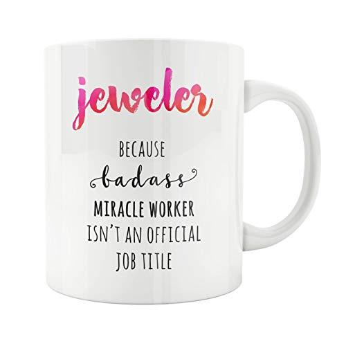 N\A Juwelier Becher Juwelier Geschenk Bester Juwelier Juwelier Badass Zukünftiger Juwelier Juwelier Geschenk Geburtstag Jubiläumsgeschenk
