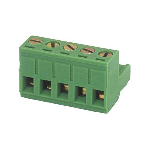 Regleta de conexión Hembra para Circuito Impreso Color Verde Electro DH 10.880/F/10...