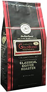 コーヒー豆 クラシカルコーヒーロースター 100%アラビカ豆 ゴールドブレンド 250g (8.8oz) 中粗挽