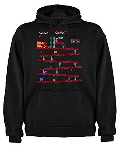 The Fan Tee Sudadera de Hombre Consolas Gamer SNES NES Mario M