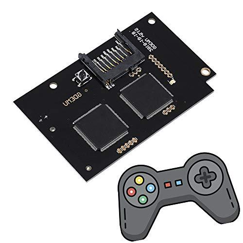 Jadpes Sega Dc Game Console Gdemu Optical Drive Board Version V5.15, GDEMU Optical Drive Simulation Board Card Repair Part V5.15 for SEGA DC DreamcastHost Game