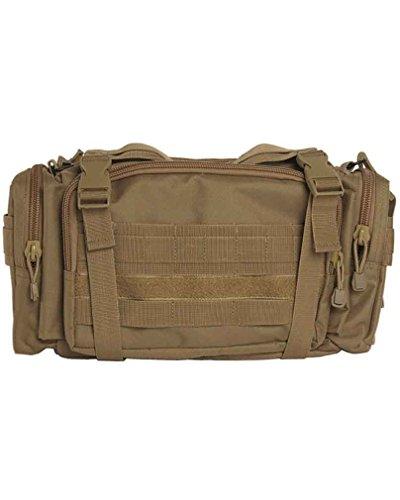 Système modulaire grand sac haubtfach, 3 poches externes, large, coyote