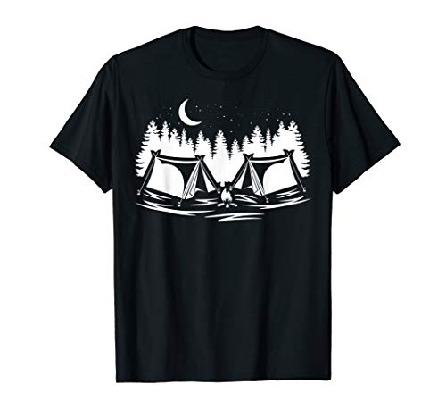 Zelten am Lagerfeuer | Camper Shirt | Männer Frauen Kinder