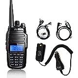 TYT TH-UV8000D Dual Band Ham Radio 10W, Cross-Band Repeater VHF 144-148/UHF 420-450mhz, Amateur Two-Way Radio W/Battery Eliminator