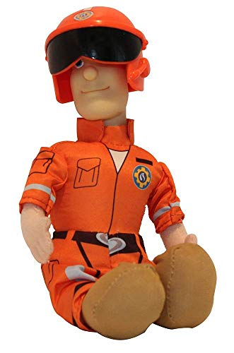 Simba Brandweerman Sam 25 cm pluche figuren voor series, om te spelen en verzamelen voor kinderen (Tom Thomas)