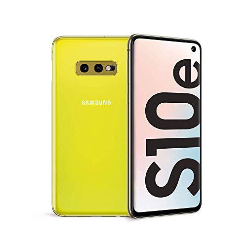 Samsung Galaxy S10e 128 GB Dual SIM, 128 GB interner Speicher, 6 GB RAM, Canary Yellow, [Standard] Italienische Version