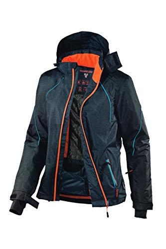 Crivit® Damen Funktionelle Skijacke Skisport Blau 38