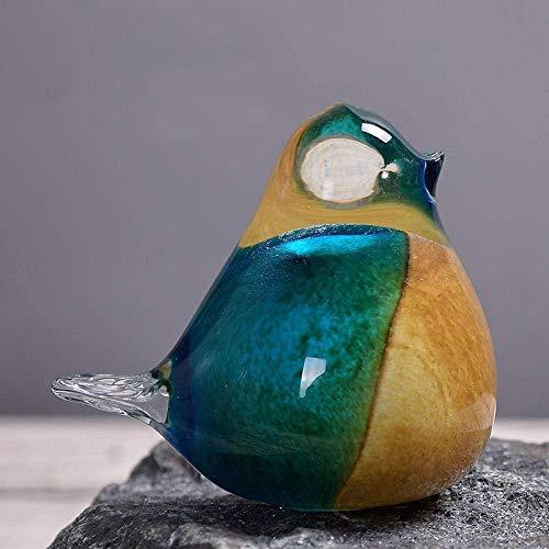 Sculptuur Standbeeld Animal Sculpture Beeldje Glazen Vogel Kristal Decoratie Huis Glas Vogel Bruiloft Verjaardagscadeau Decoratie