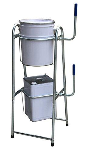 4704M ペール缶&一斗缶スタンド コンビスタンド オイル缶スタンド 塗料缶スタンド