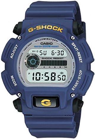 Casio Men s G Shock Quartz Watch with Rubber Strap Blue 23 75 Model DW 9052 2V product image