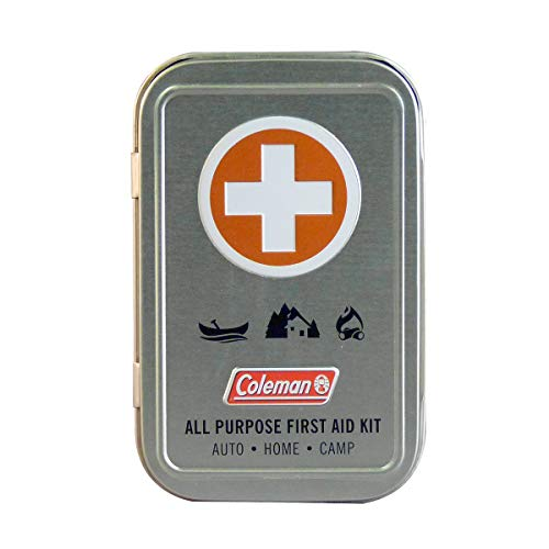 Coleman All Purpose Mini First Aid Kit  27 Piece  Silver