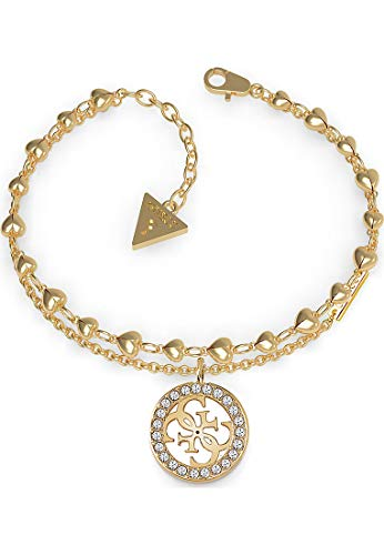 Guess Love Tropical Sun Bracelet Acier Doré UBB78026-S