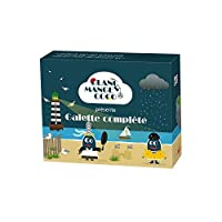 Une extension de 200 cartes du jeu Blanc-manger Coco sur le thème de la Bretagne Partie 20-30 min 3 à 10 joueurs 200 cartes 160 réponses et 40 questions Thème Bretagne