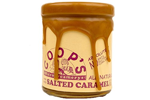 COOPS MICROCREAMERY Salted Caramel Topping, 10.6 OZ