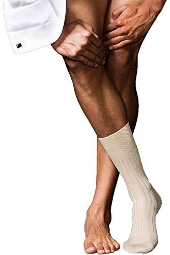 FALKE Herren No. 13 Finest Piuma Cotton Socken, Sand, 43-44