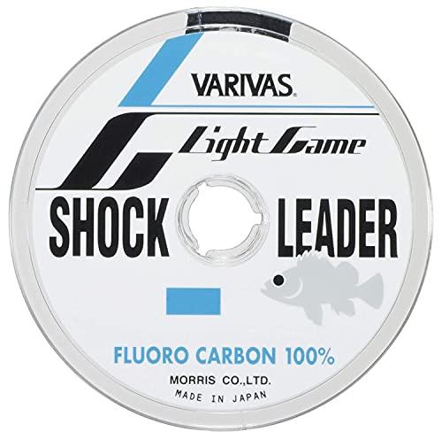 VARIVAS(バリバス) ショックリーダー ライトゲーム フロロカーボン 30m 0.8号 3lb ナチュラル