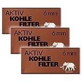 White Elephant Aktivkohlefilter 6mm (3x45 Filter)