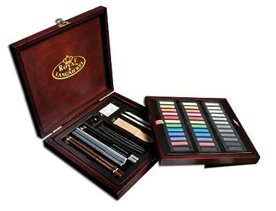 Royal Brush RSET-PAS1600 Premier Box Set-Pastel Pencil