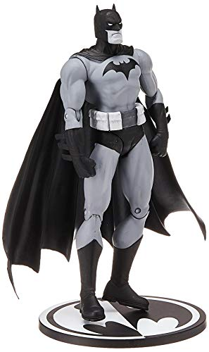 DC Collectibles Entertainment Earth Batman Black and White Hush by Jim Lee Action Figure, Multicolor